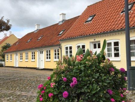 A Danish square, North Jutland