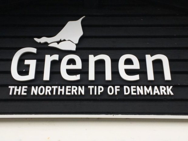 Grenen, the northern tip of Denmark