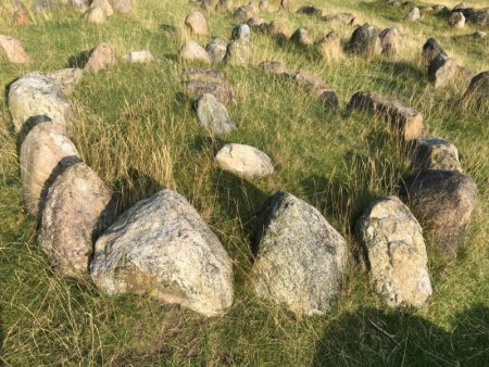 Lindholm hoje viking grave