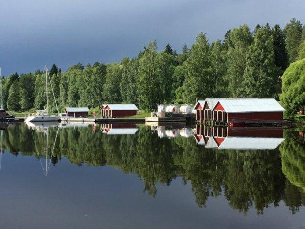 Virrat boat sheds, Näsijärvi