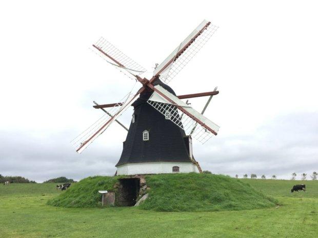 An old windmill, Denmark