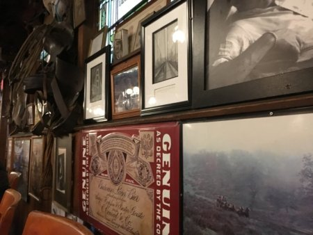 Carmel Valley pub wall