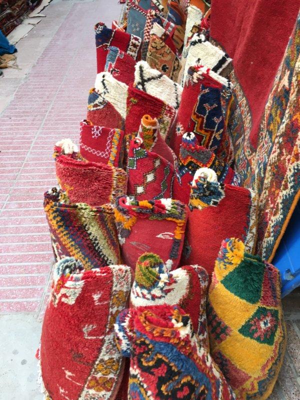 Moroccan textiles, Essaouira