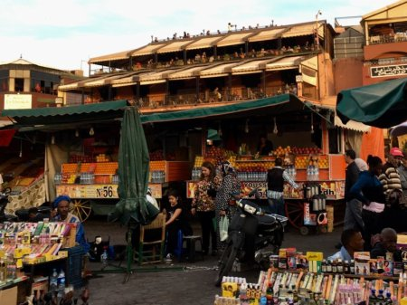 Jemaa el-Fna market square