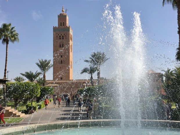 Places to travel at different times of the year, Marrakech