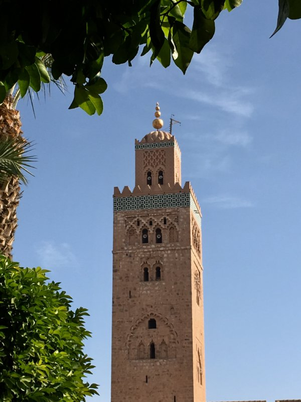 Koutobia Mosque, Marrakech