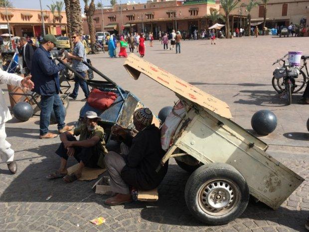Marrakech Medina street life
