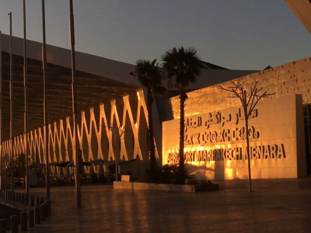 Marrakech Menara Airport departures
