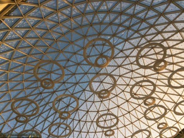 Marrakech Menara Airport dome