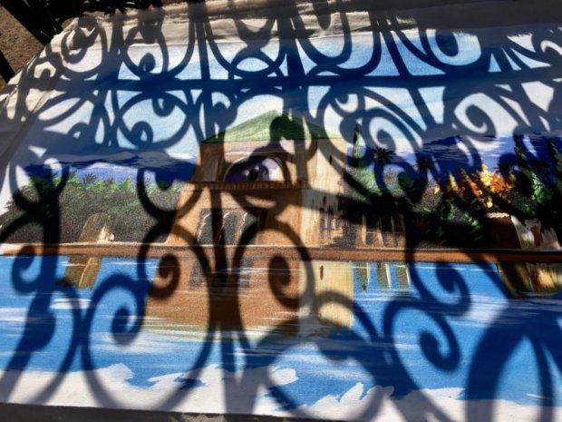 Menara Gardens painting for sale