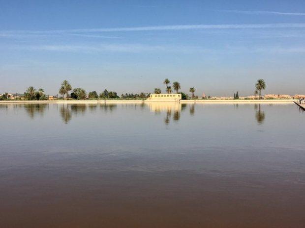 Menara Gardens water reservoir