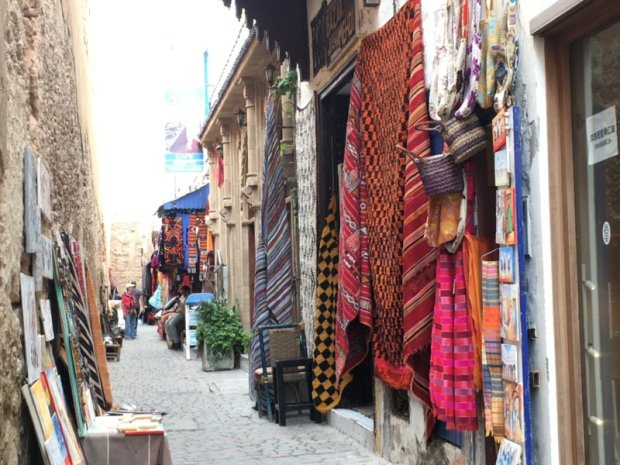 Moroccan carpets, Essaouira