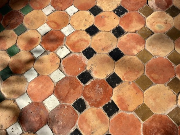 Palais Bahia floor decoration