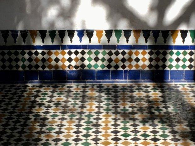 Palais Bahia tiles
