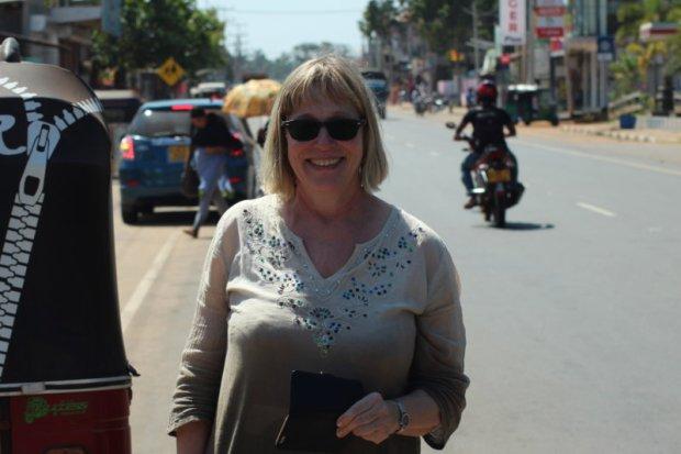 Reporting from Sri Lanka