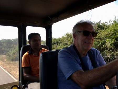 Jeep safari to Yala National Park