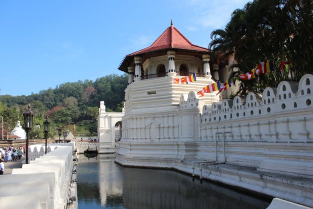 Kandy's temple area