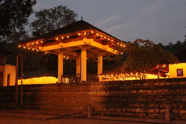 Kandy Royal Palace gate