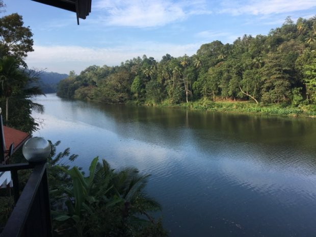 Our Kandy homestay Mahaweli River view