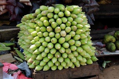 Piled bananas
