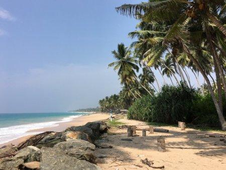 Sri Lanka's South Coast beach after tsunami