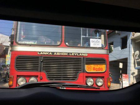 Bus from Kandy to Nuwara Eliya