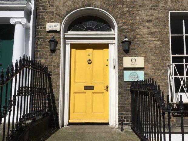 A Dublin door