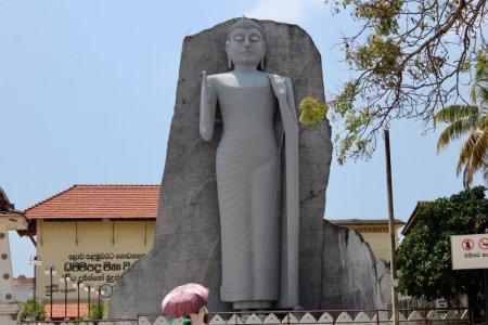 Sri Lanka's Sout Coast Buddha statue