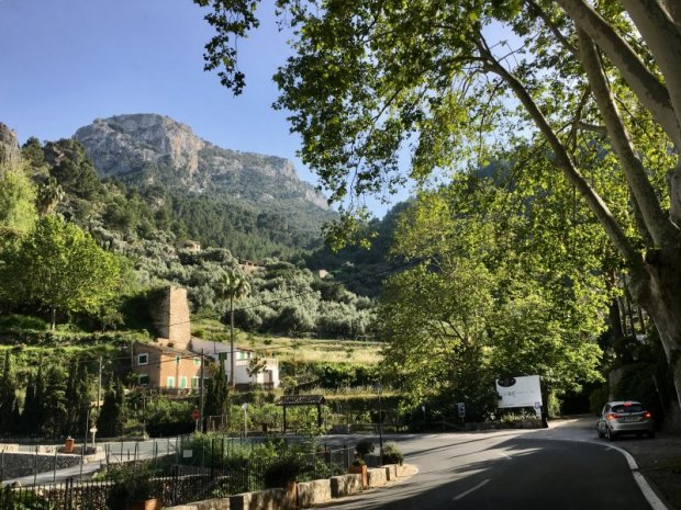 Driving in Mallorca: the road to Deia