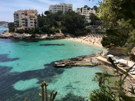 Dreaming about travel: Illetas beach, Mallorca