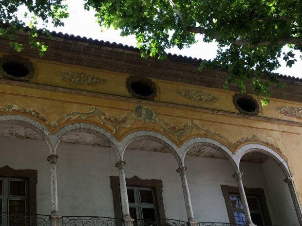 Old architecture of Passeig des Born, Mallorca