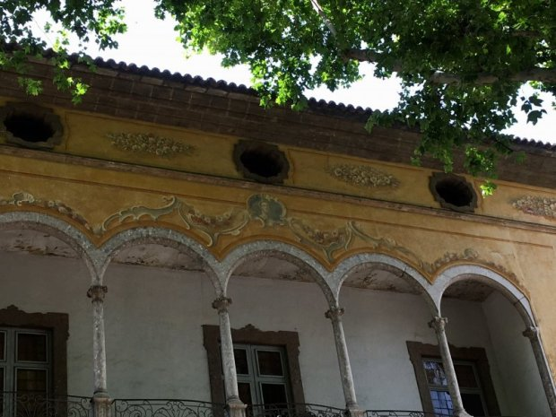Old architecture of Passeig des Born, Palma de Mallorca