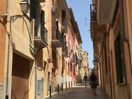 Walking in Palma de Mallorca