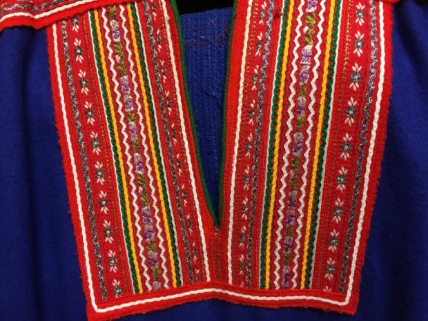 Traditional Sámi clothing