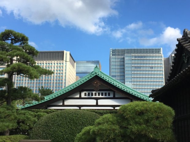Walks in Old Tokyo:,Imperial Palace East Gardens