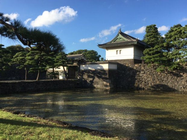 Tokyo Imperial Palace guard tower