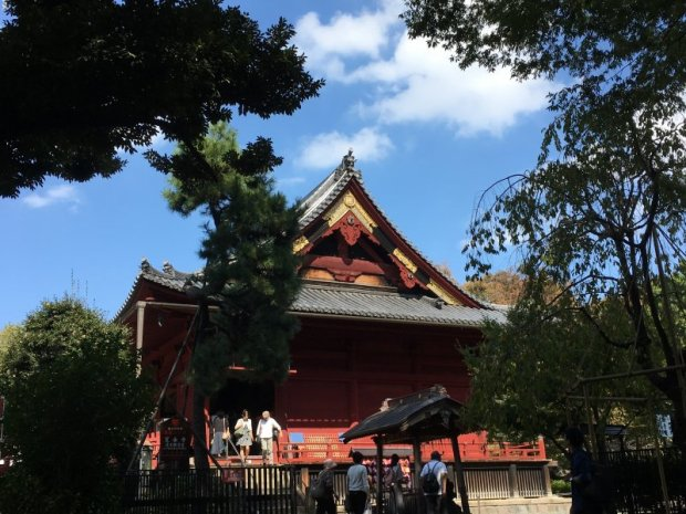 Walks in Old Tokyo, Ueno Park and Kiyomizu Hall