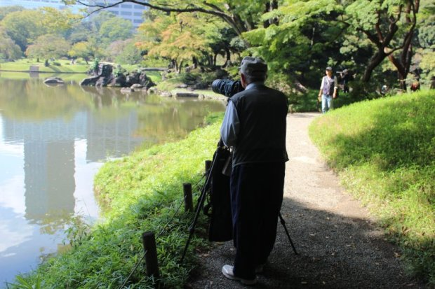 Koishikawa Korakuen park photographer
