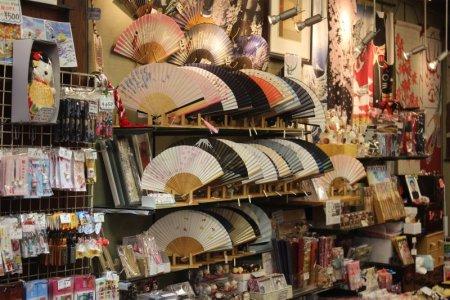 Nakamise market, Asakusa