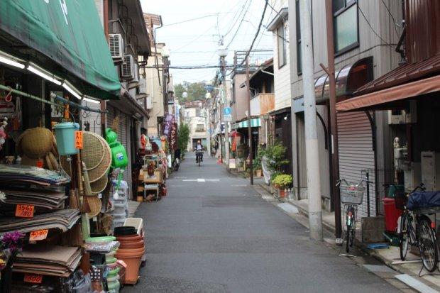 Nezu old town in Tokyo