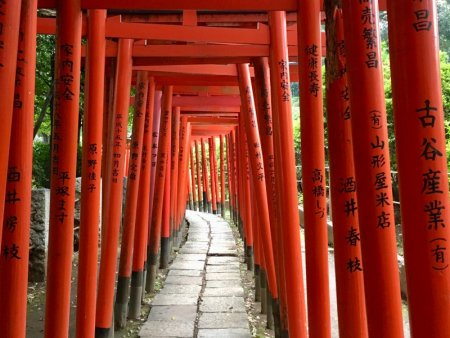 Nezu Shrine gates