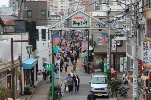 Yanaka Ginza pedestrian street, Tokyo