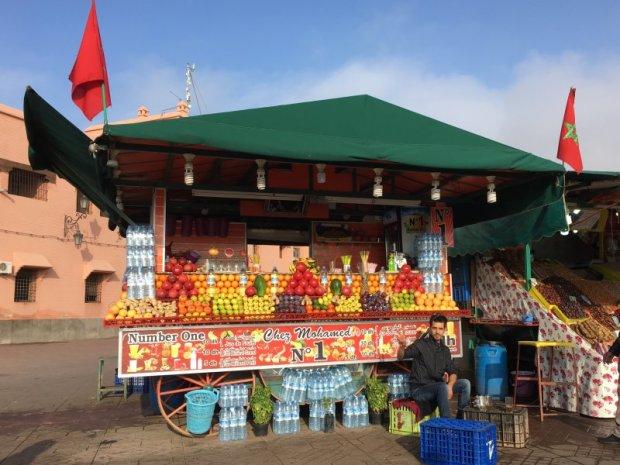 Jemaa el-Fna fruit stall