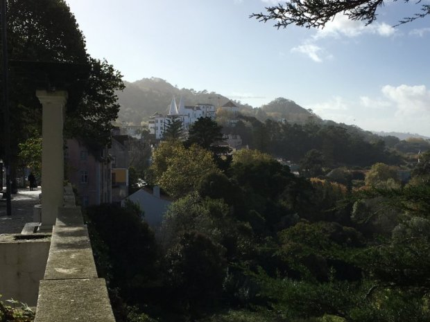 Palaces of Sintra by bus: National Palace in the Old Town of Sintra