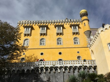 Pena National Palace from the park