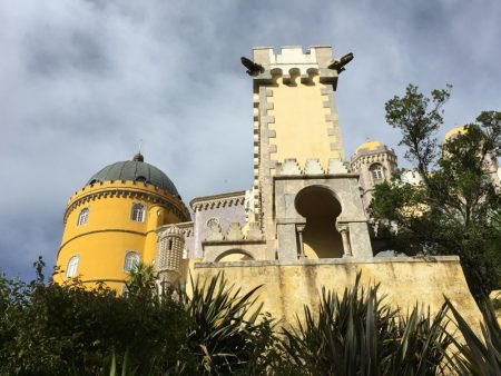 The Pena Palace, Palaces of Sintra by bus