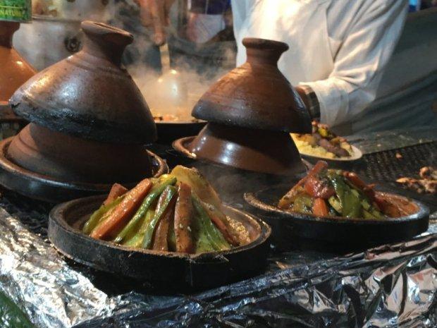 Preparing Moroccan couscous