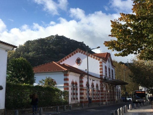 Sintra train station, Palaces of Sintra by bus
