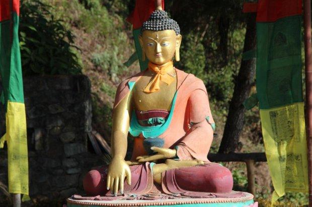 Hotel Coutnry Villa Buddha statue