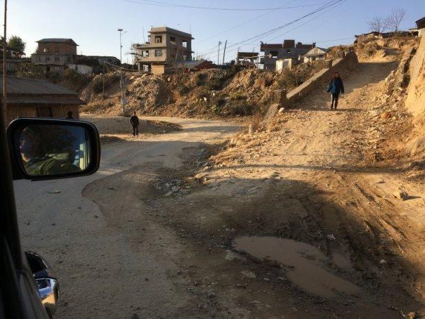 Nagarkot to Bhaktapur road conditions